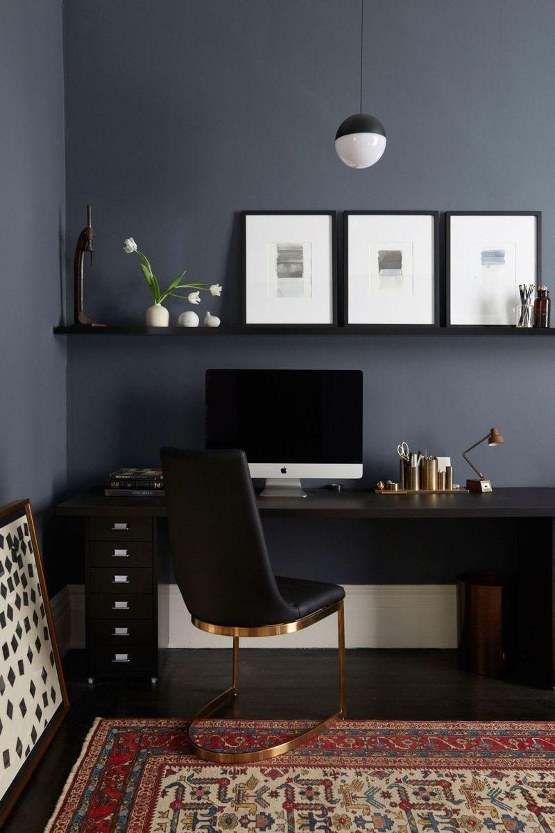 Stunning Modern Home Office Design Ideas 16
