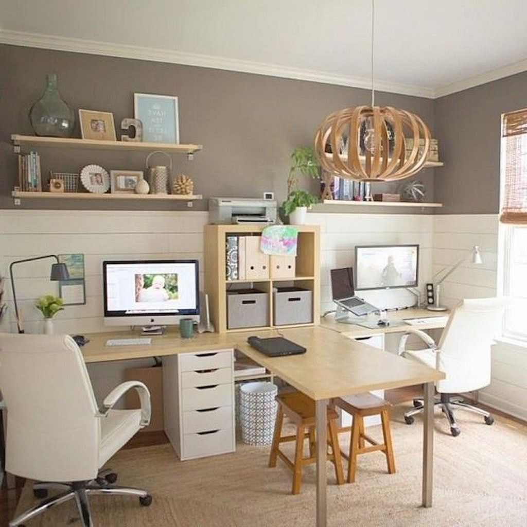 Stunning Modern Home Office Design Ideas 17