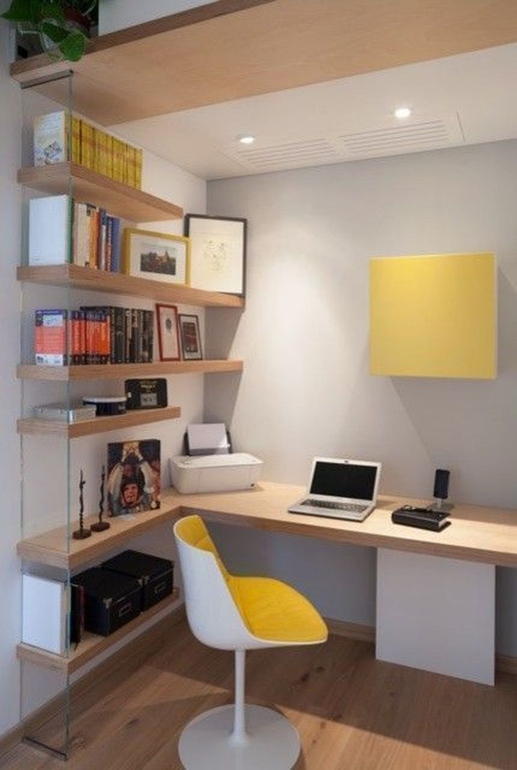 Stunning Modern Home Office Design Ideas 18