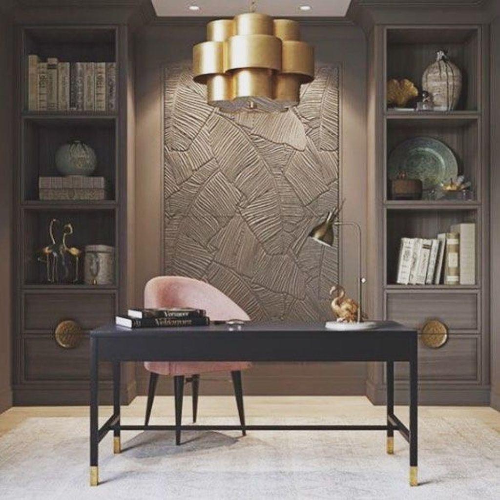 Stunning Modern Home Office Design Ideas 24