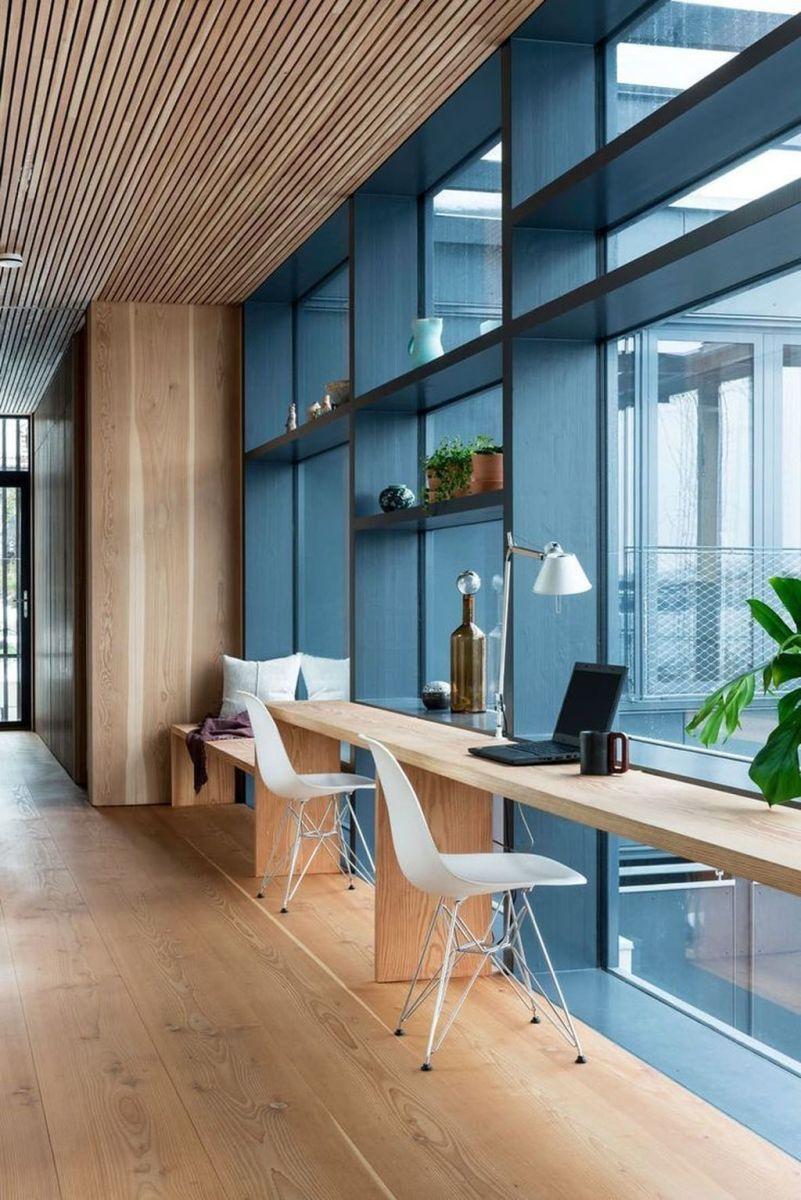 Stunning Modern Home Office Design Ideas 25