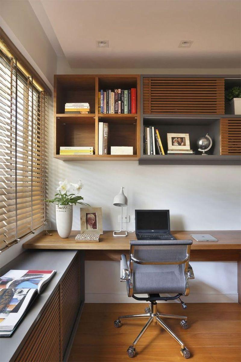 Stunning Modern Home Office Design Ideas 28