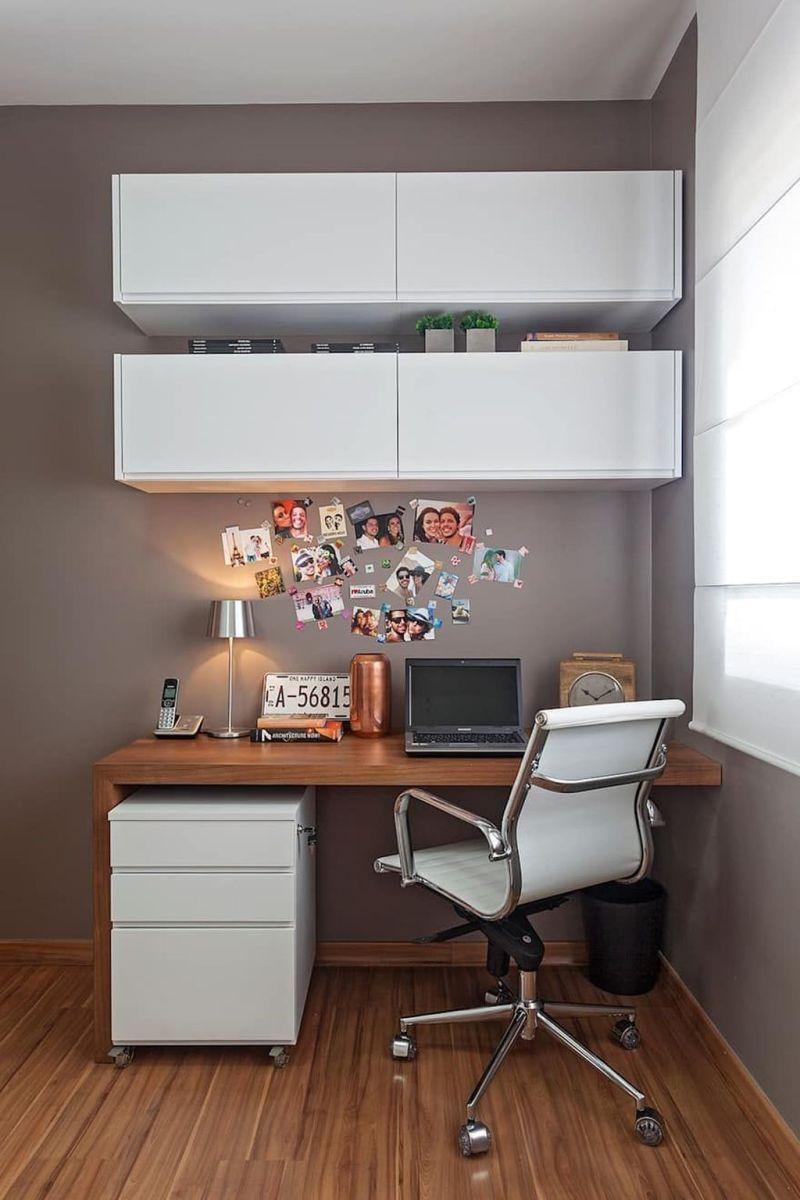 Stunning Modern Home Office Design Ideas 30