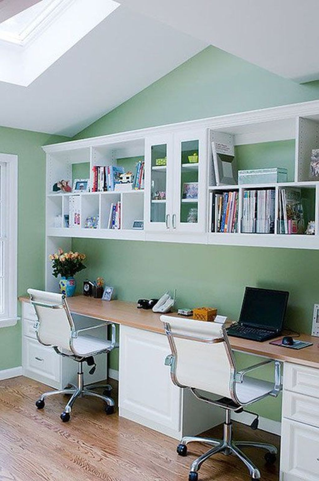 Stunning Modern Home Office Design Ideas 40