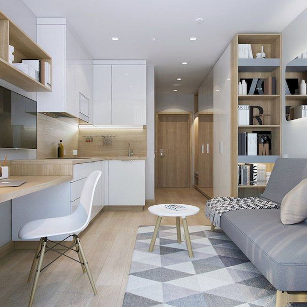 The Best Studio Apartment Layout Design Ideas 14