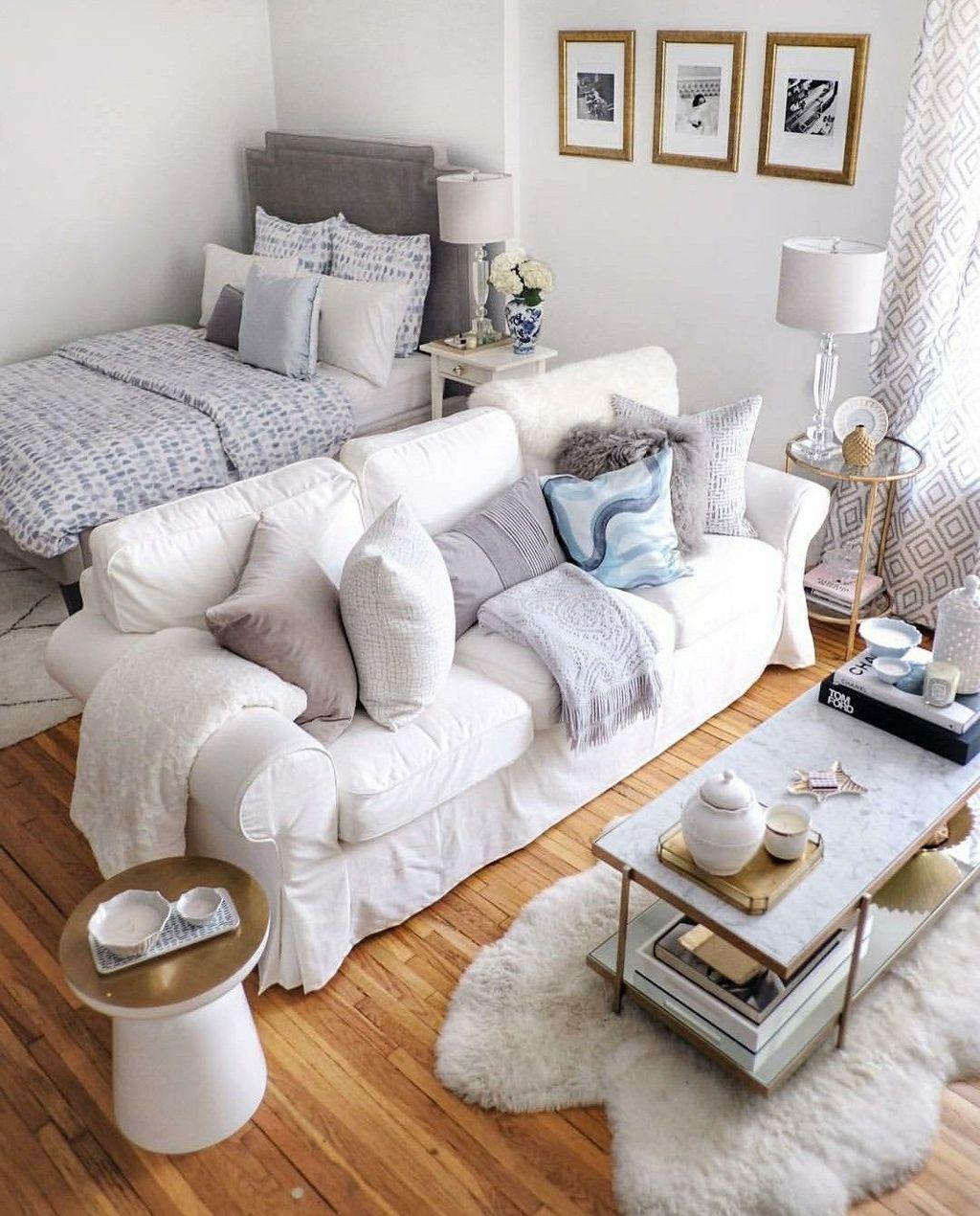 The Best Studio Apartment Layout Design Ideas 16