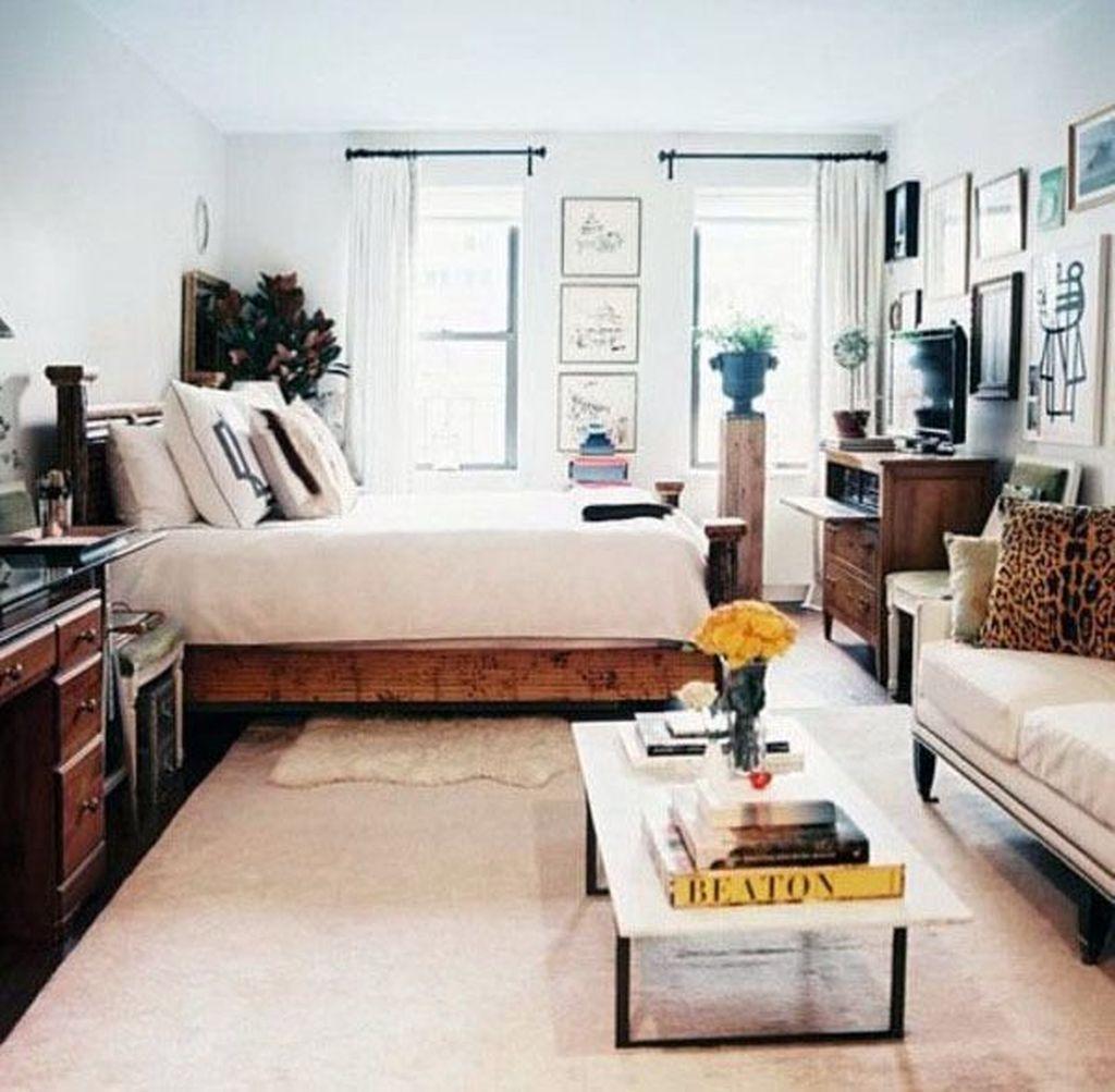 The Best Studio Apartment Layout Design Ideas 27