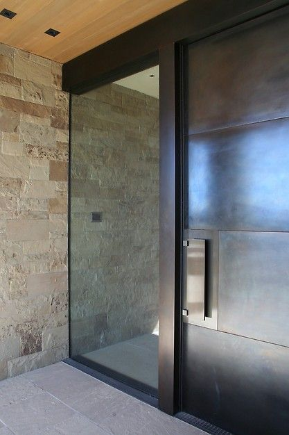 Amazing Modern Door Design Ideas 14