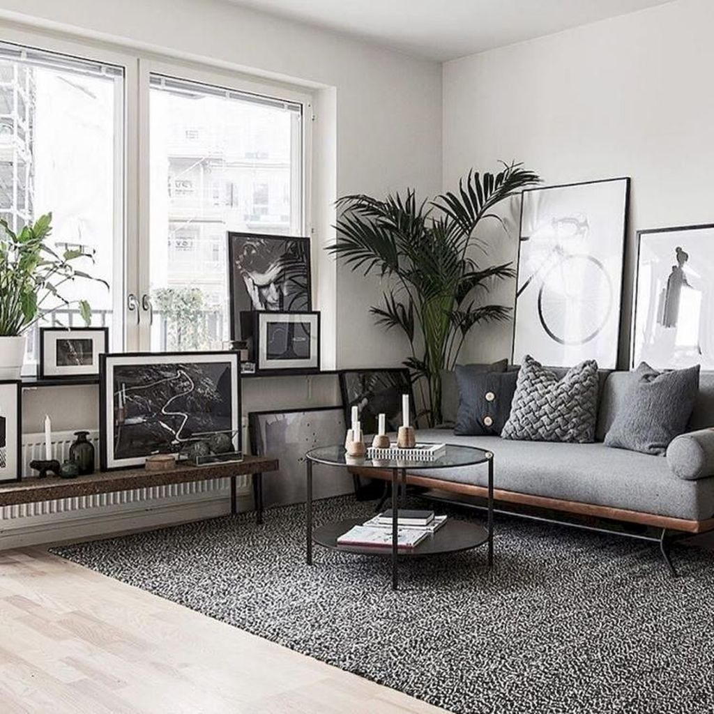 Amazing Scandinavian Living Room Decor Ideas 20
