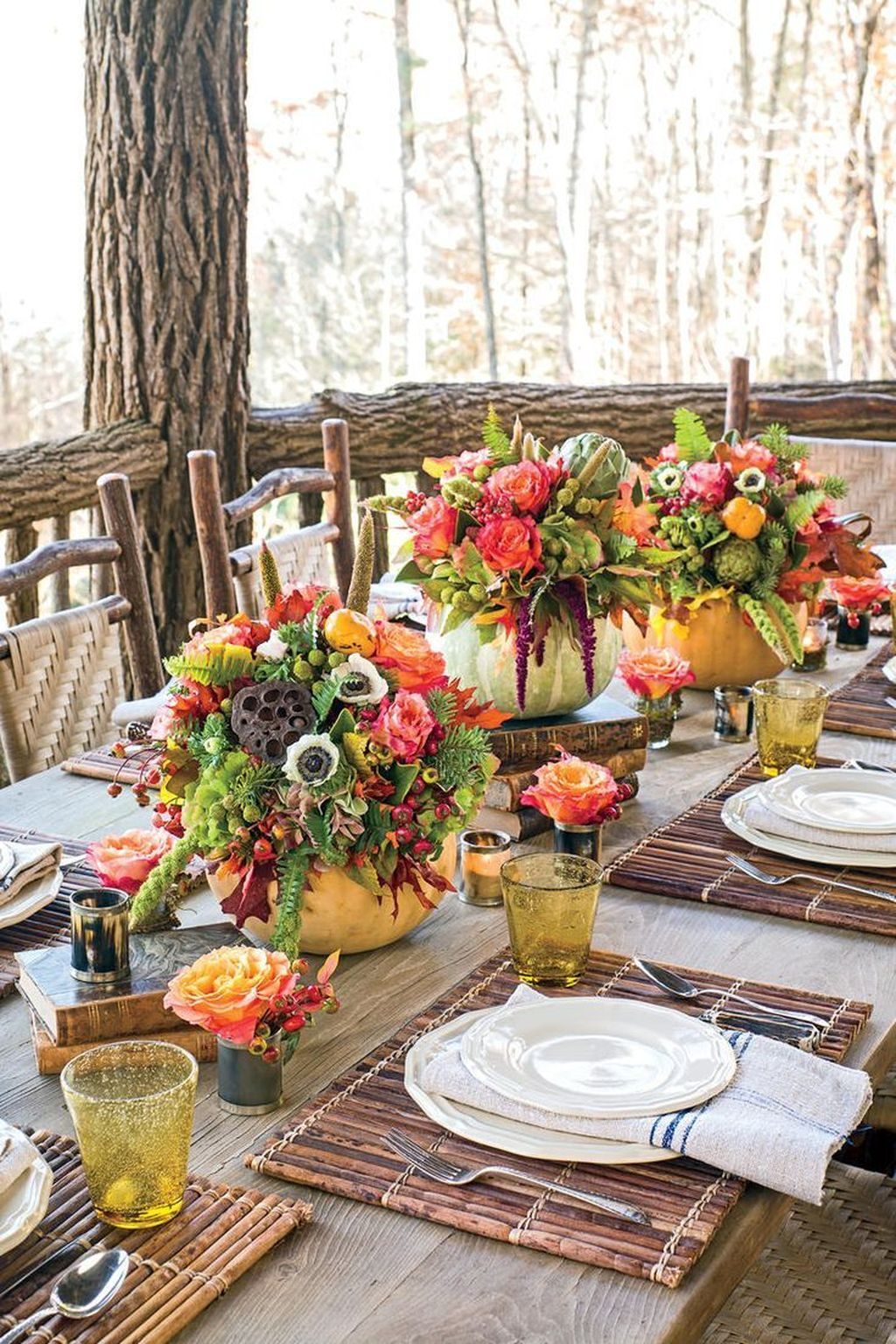 Awesome Fall Table Decorations Ideas You Should Apply This Year 09