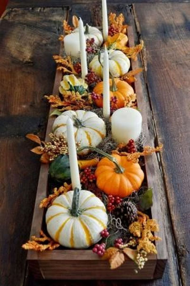 Awesome Fall Table Decorations Ideas You Should Apply This Year 34