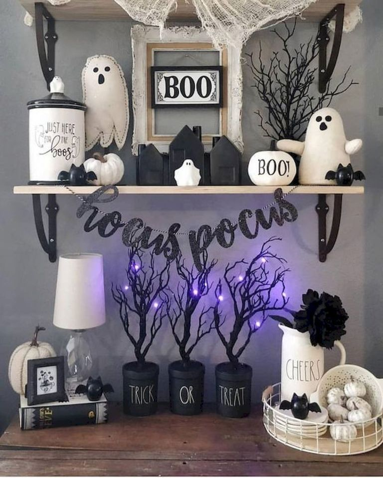 Awesome Spooky Halloweeen Home Decoration Ideas 01