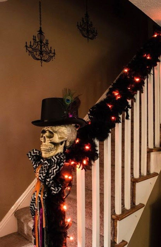 Awesome Spooky Halloweeen Home Decoration Ideas 05