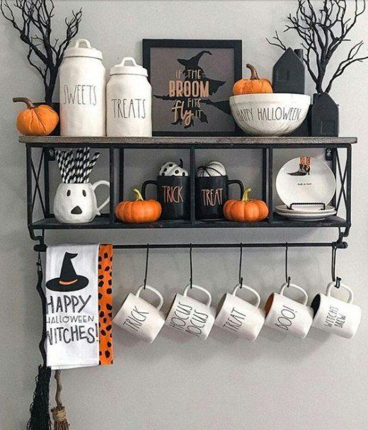 Awesome Spooky Halloweeen Home Decoration Ideas 06
