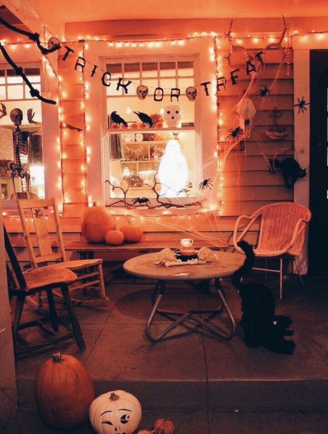 Awesome Spooky Halloweeen Home Decoration Ideas 14