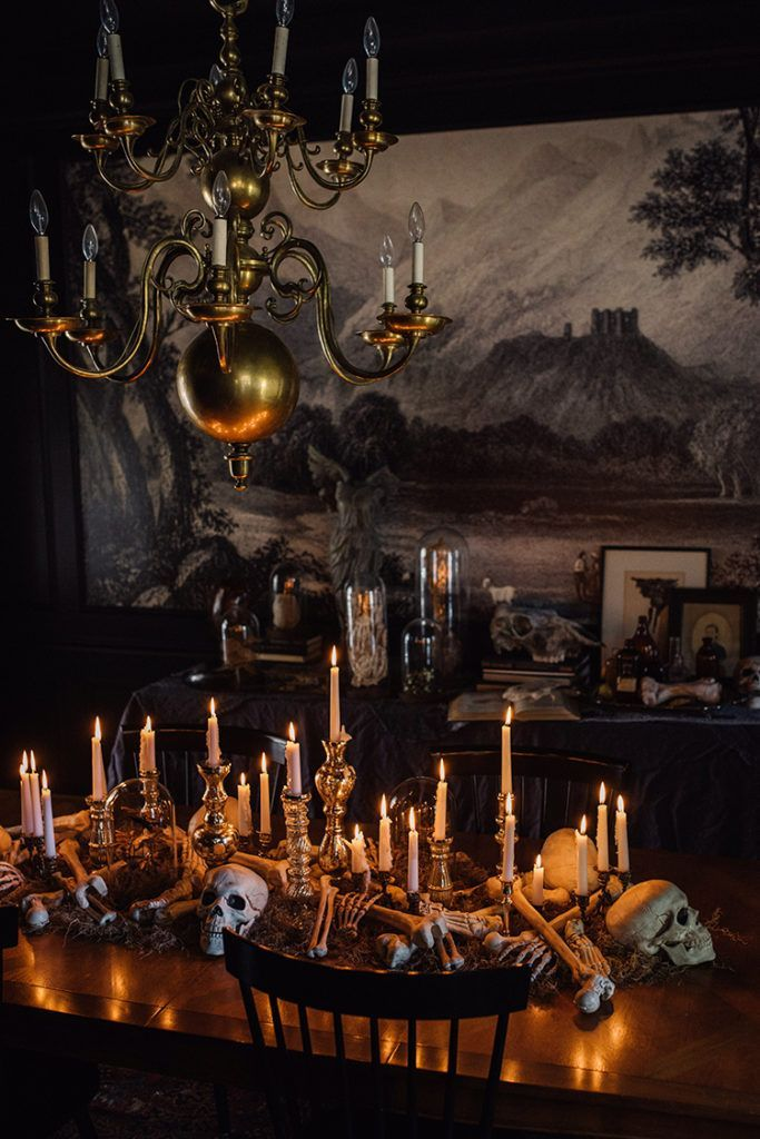 Awesome Spooky Halloweeen Home Decoration Ideas 30