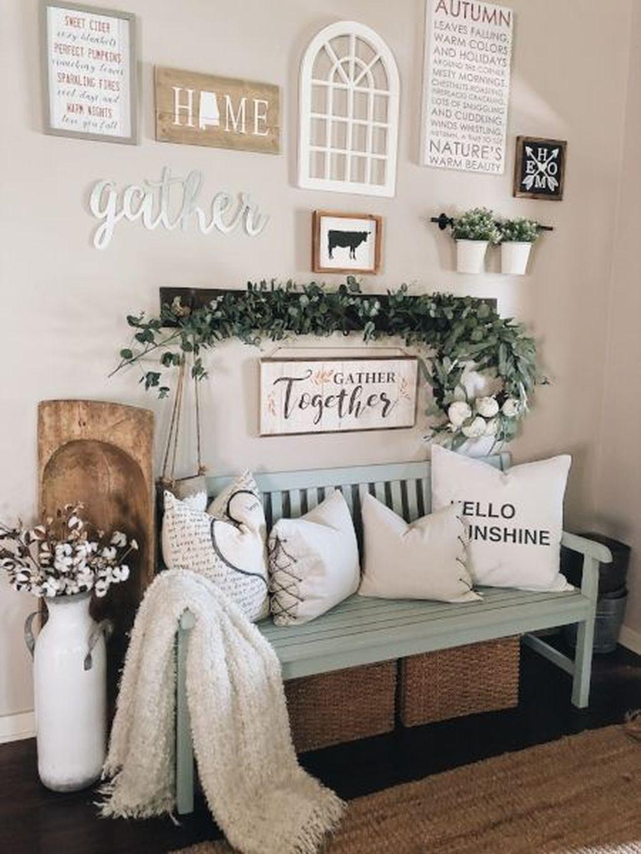 Beautiful Fall Entryway Decor Ideas 17