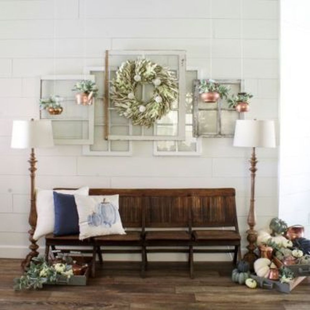 Beautiful Fall Entryway Decor Ideas 26