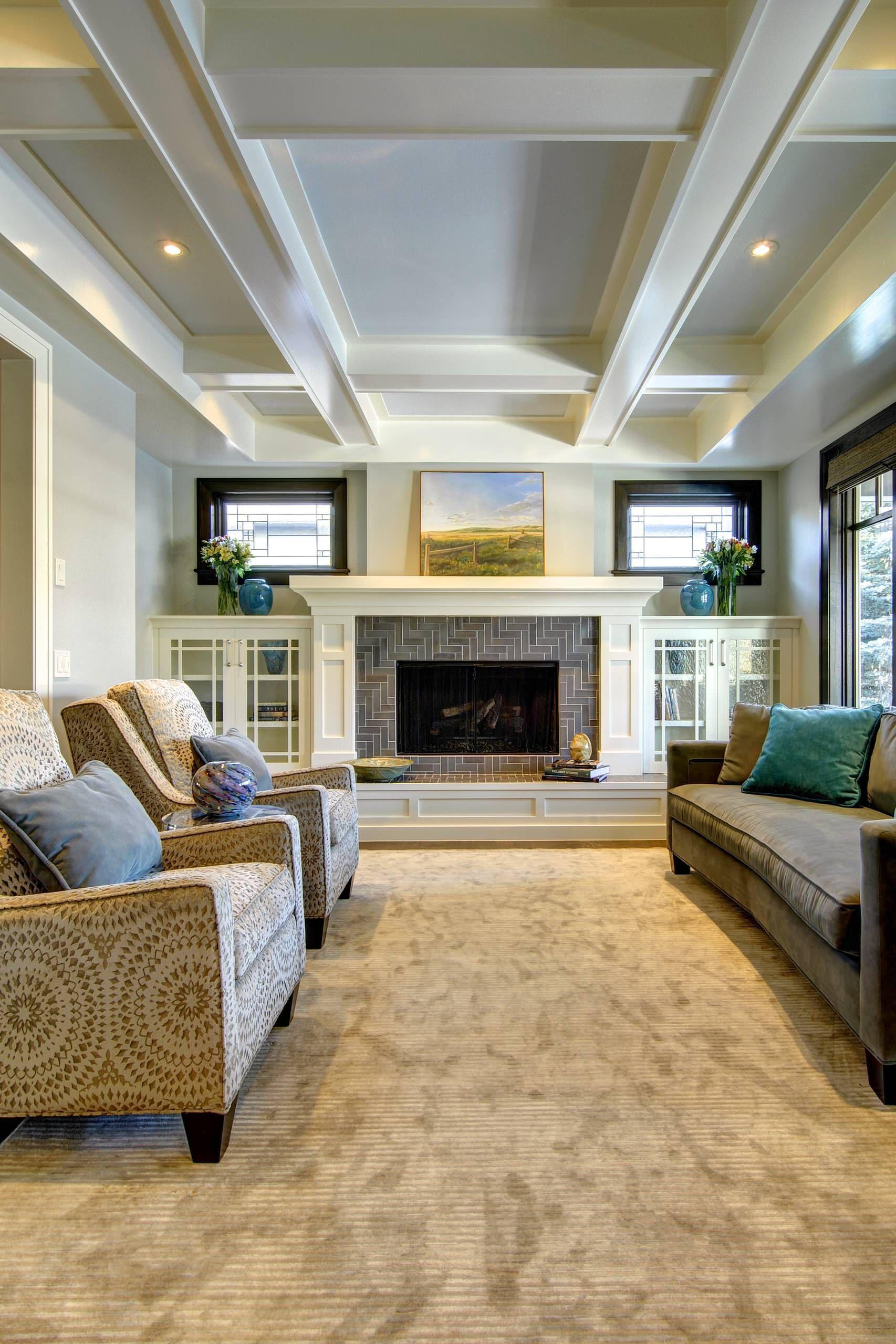 Beautiful Family Room Design Ideas 13