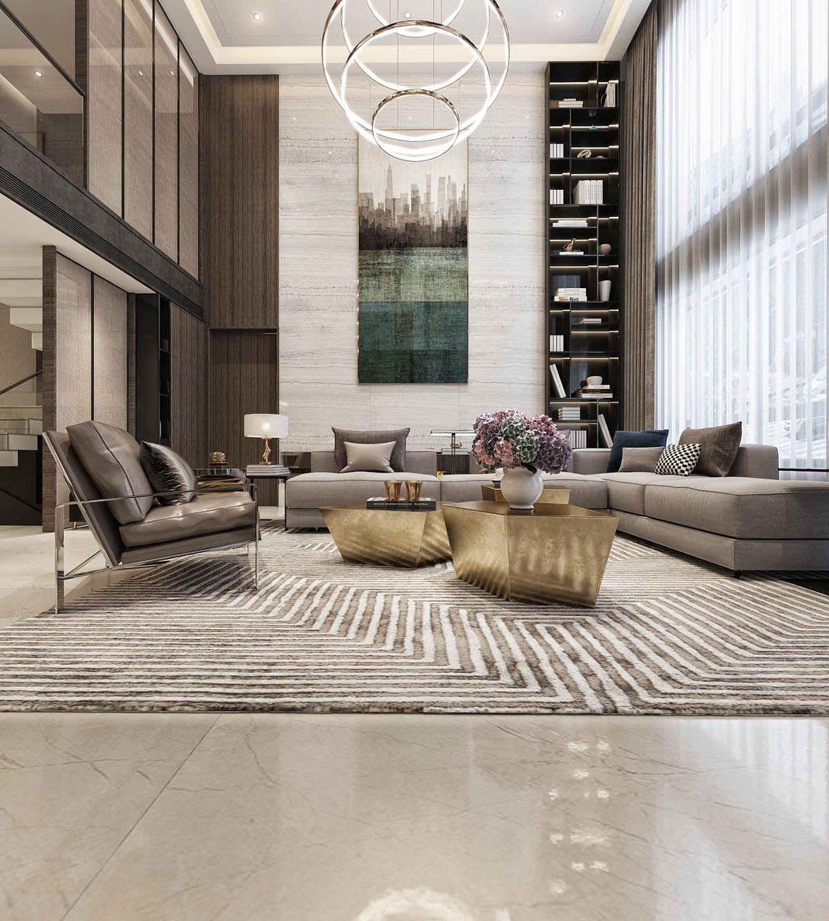 Beautiful Family Room Design Ideas 30