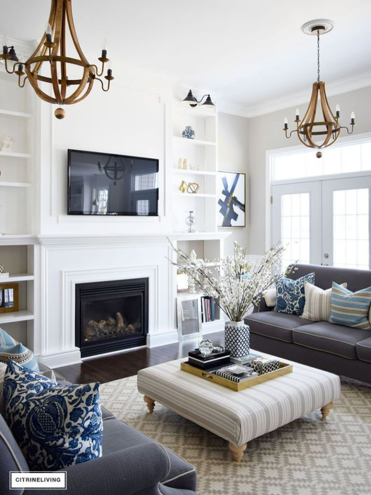 Beautiful Family Room Design Ideas 32