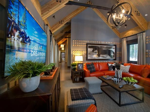 Beautiful Family Room Design Ideas 34
