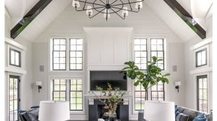 Beautiful Family Room Design Ideas 37