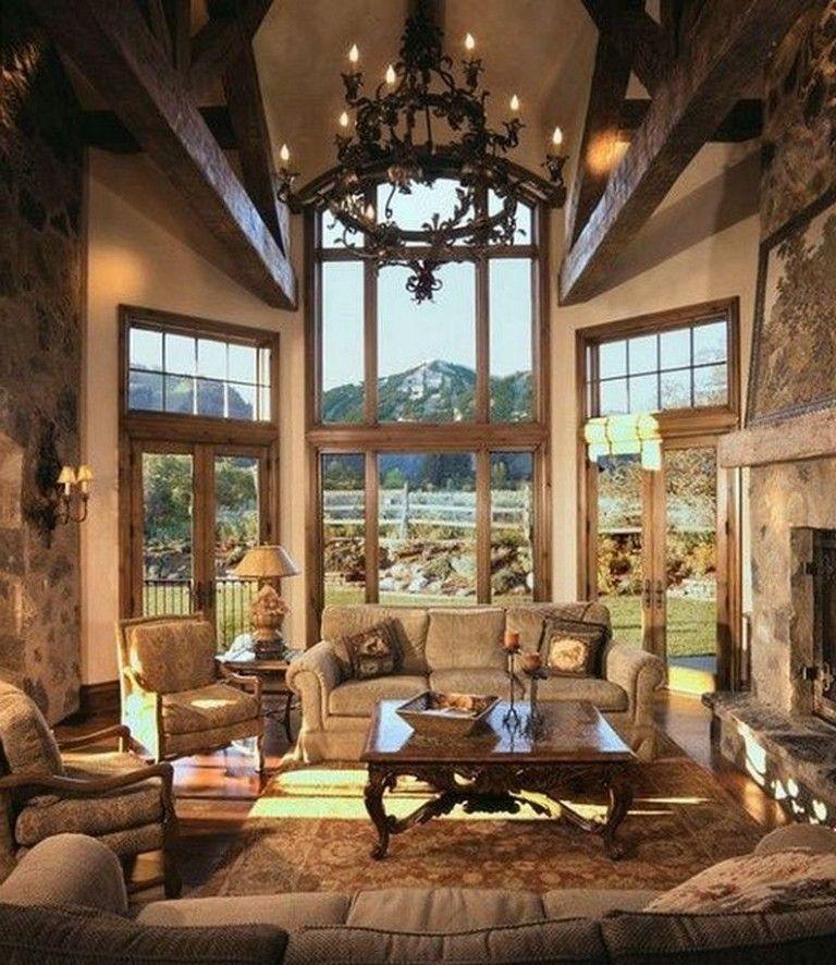Beautiful Family Room Design Ideas 40