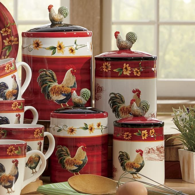 Fabulous Rooster Kitchen Decor Ideas 01
