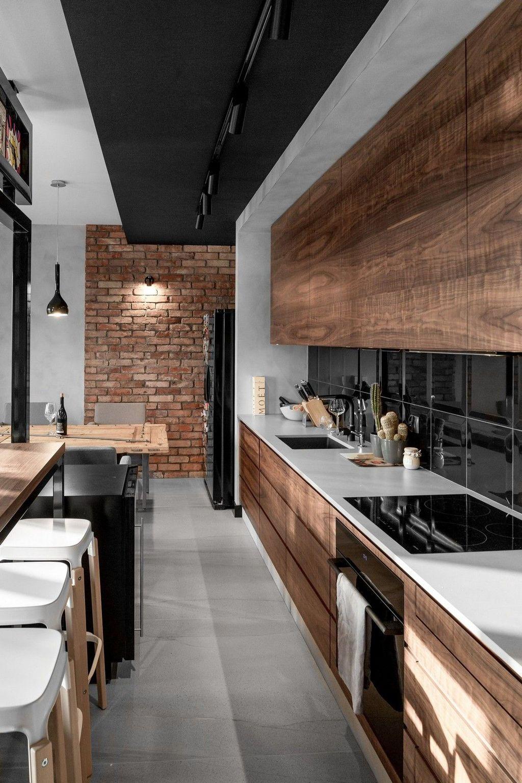 Gorgeous Modern Kitchen Design Ideas 21