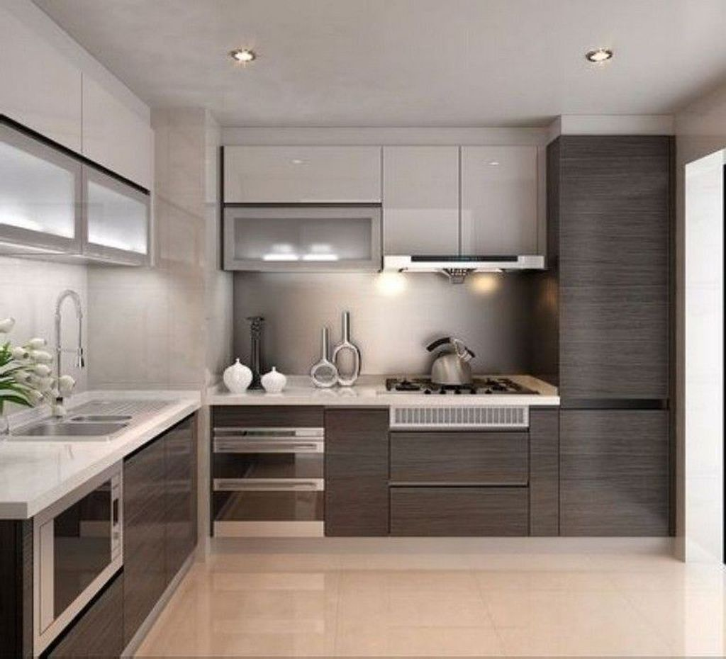 Gorgeous Modern Kitchen Design Ideas 25
