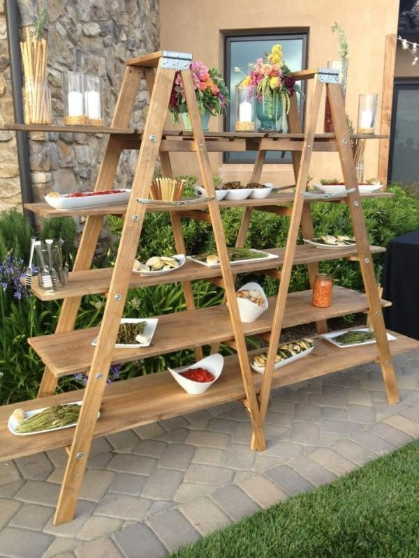 Gorgeous Vintage Ladder Decor Ideas 08