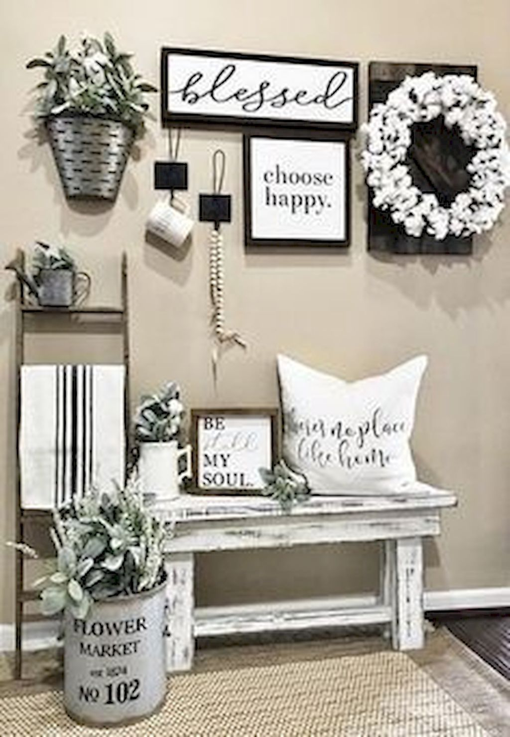 Inspiring DIY Farmhouse Home Decor Ideas 17