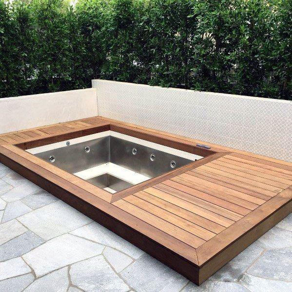 Inspiring Hot Tub Patio Design Ideas For Your Outdoor Decor 11