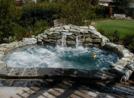 Inspiring Hot Tub Patio Design Ideas For Your Outdoor Decor 18