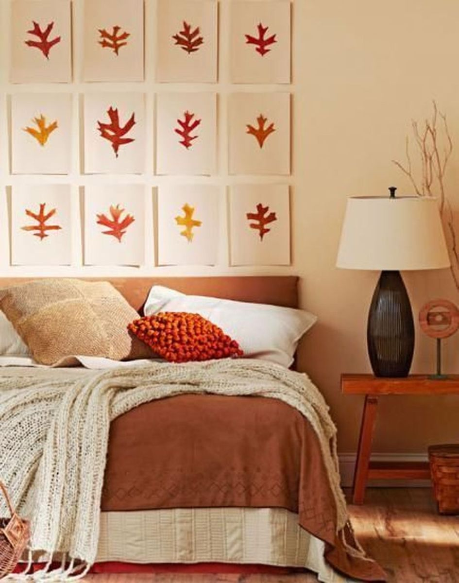 Lovely Fall Bedroom Decor Ideas That Will Popular This Year 01