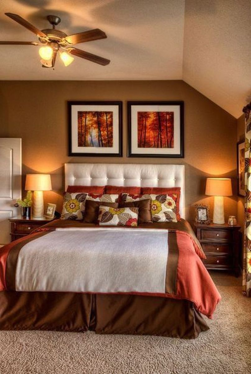 Lovely Fall Bedroom Decor Ideas That Will Popular This Year 18