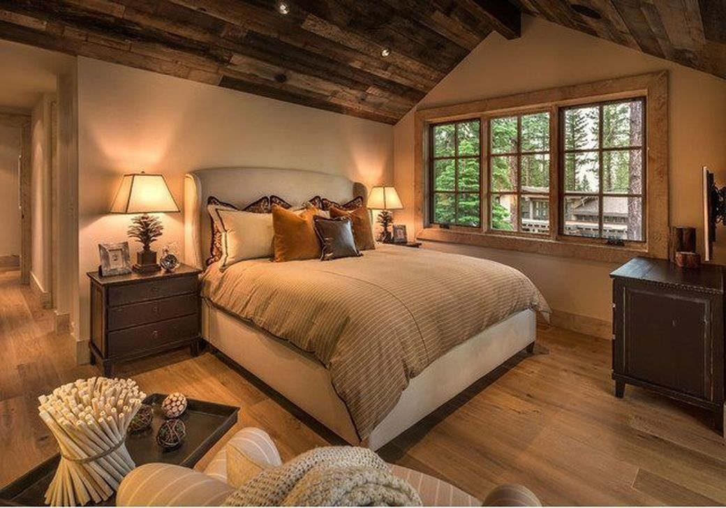 Lovely Lake Bedroom Decorating Ideas 20