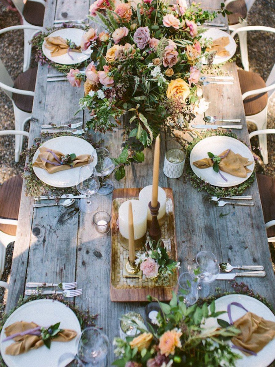 Lovely Wedding Table Decoration Ideas 17