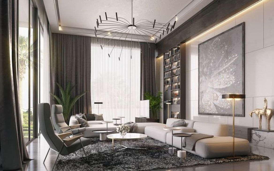 Luxury Living Room Design Ideas With Modern Accent 10