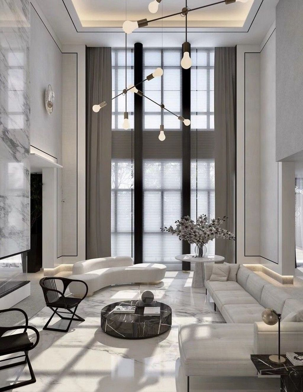 Luxury Living Room Design Ideas With Modern Accent 13