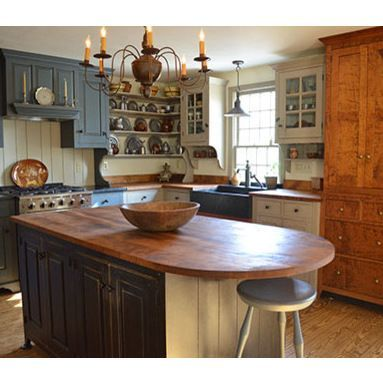 Nice Colonial Kitchen Decoration Ideas 07