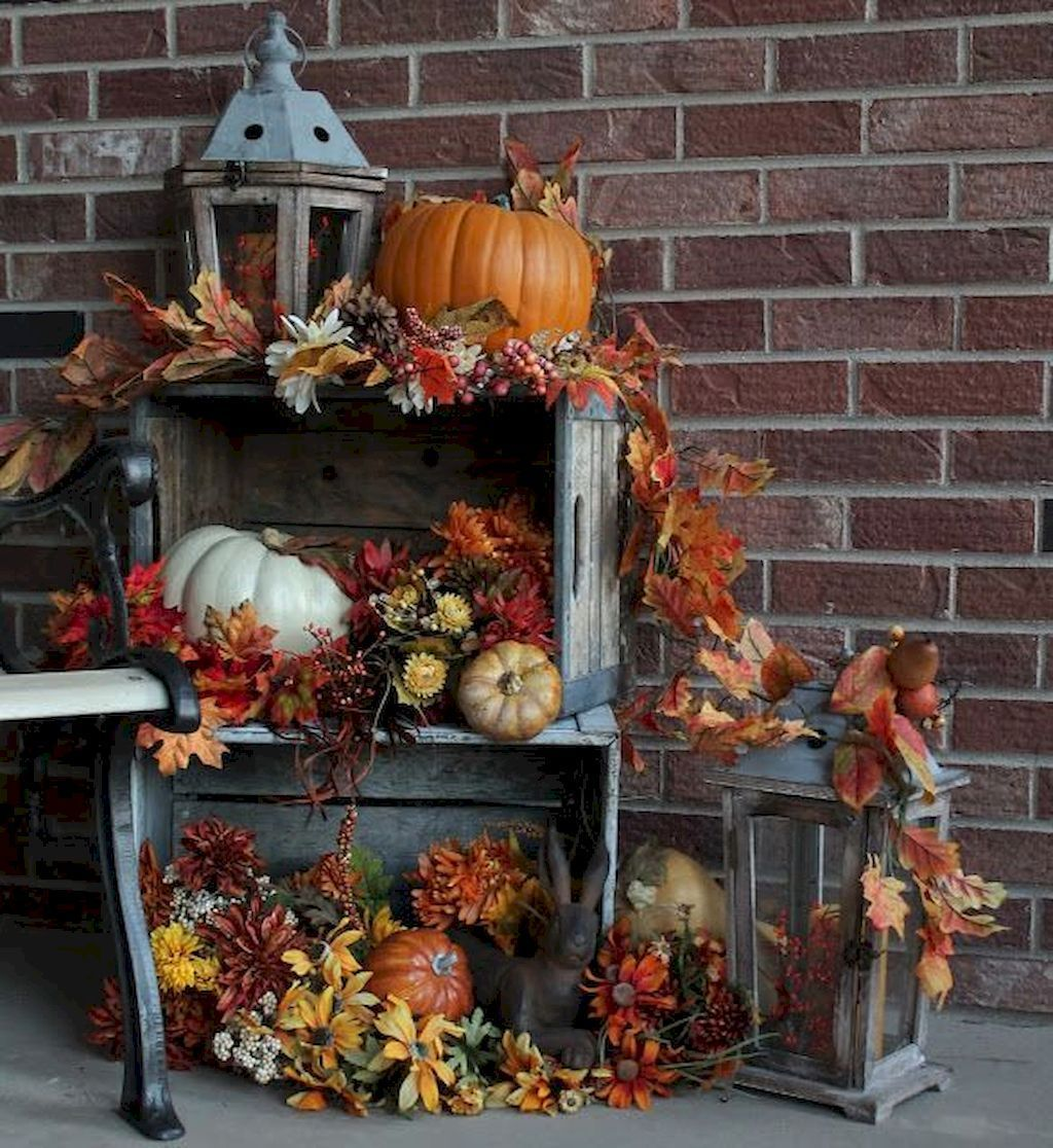 Stunning DIY Fall Home Decor Ideas 19