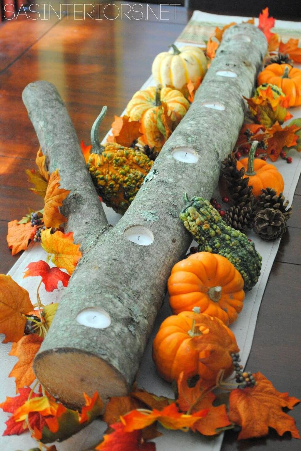 Stunning DIY Fall Home Decor Ideas 27