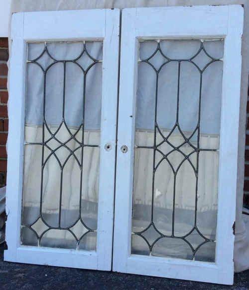 Stunning Leaded Glass Windows Design Ideas 04