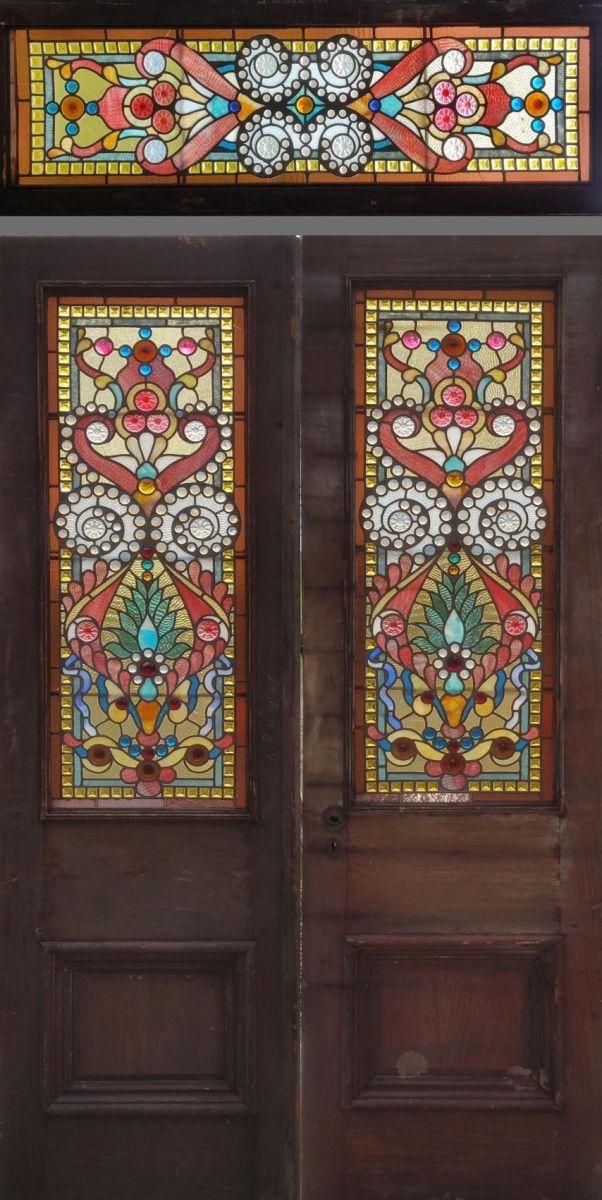 Stunning Leaded Glass Windows Design Ideas 21