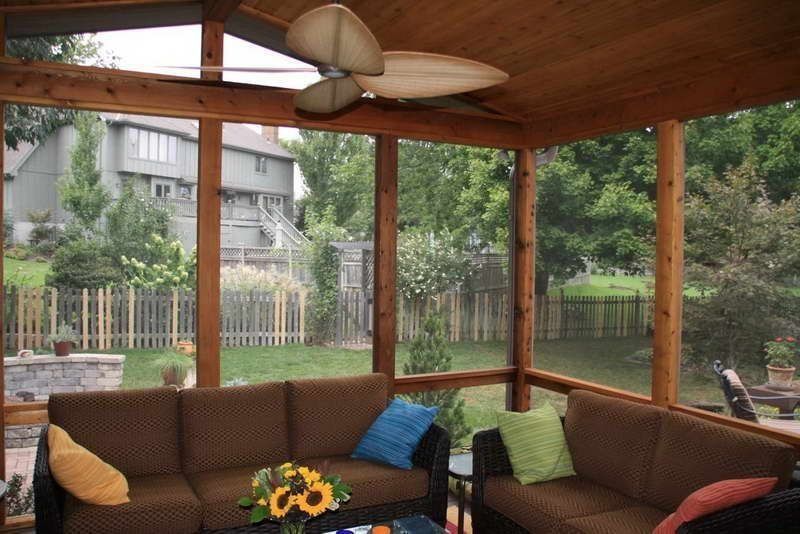 The Best Enclosed Porch Design And Decor Ideas 02