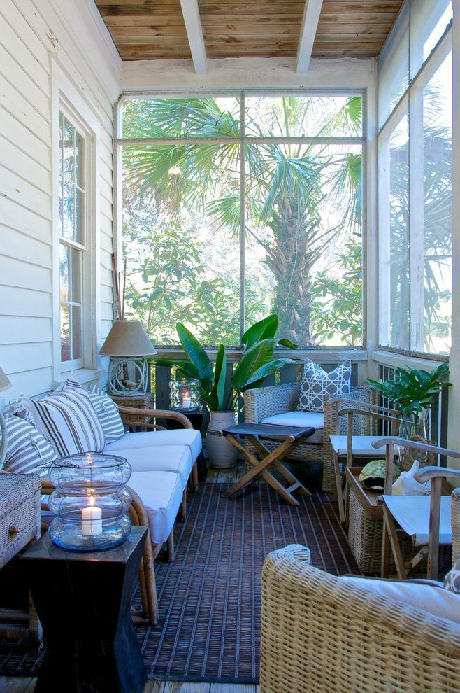 The Best Enclosed Porch Design And Decor Ideas 09