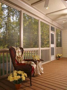 The Best Enclosed Porch Design And Decor Ideas 17
