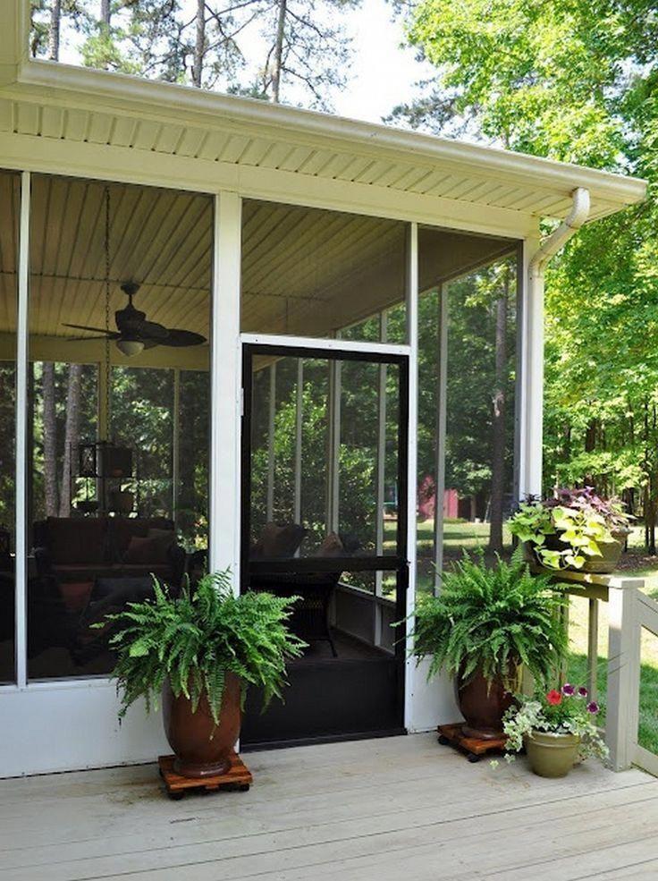 The Best Enclosed Porch Design And Decor Ideas 23